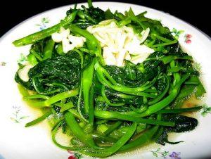 Ăn rau muống nhiều có tốt không?