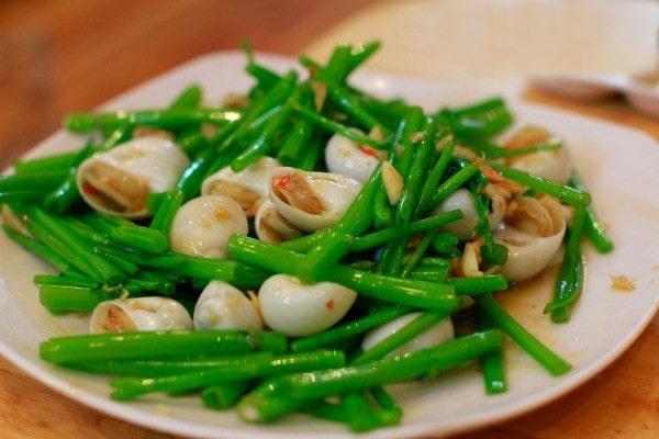 Rau muống được chế biến thành nhiều món ăn ngon, hấp dẫn