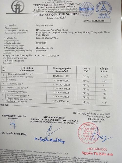 Mật ong Phúc Khang chai 720g 1